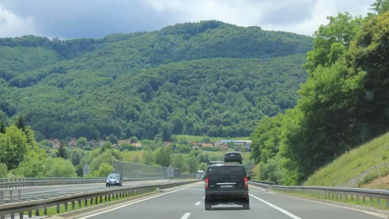 Автобан в Черногории