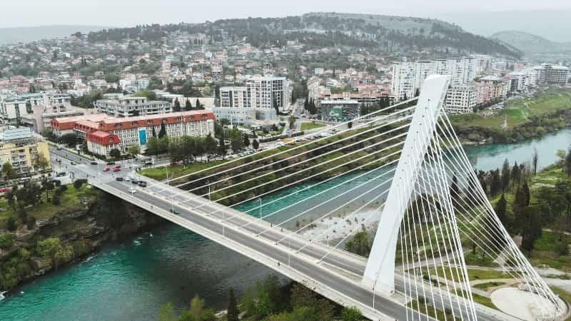 Мост тысячелетия Подгорица