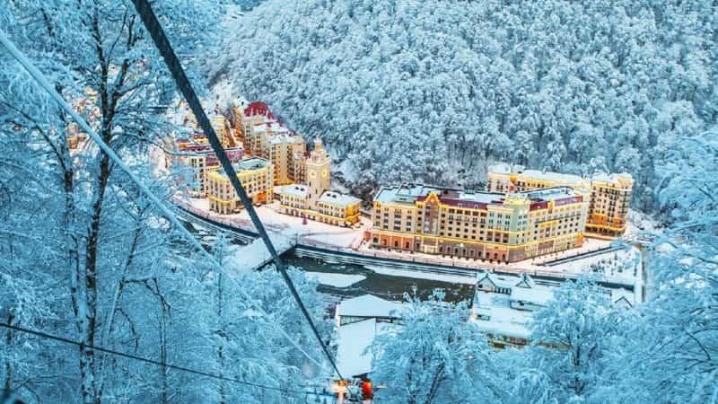 Отдых зимой в России в Сочи