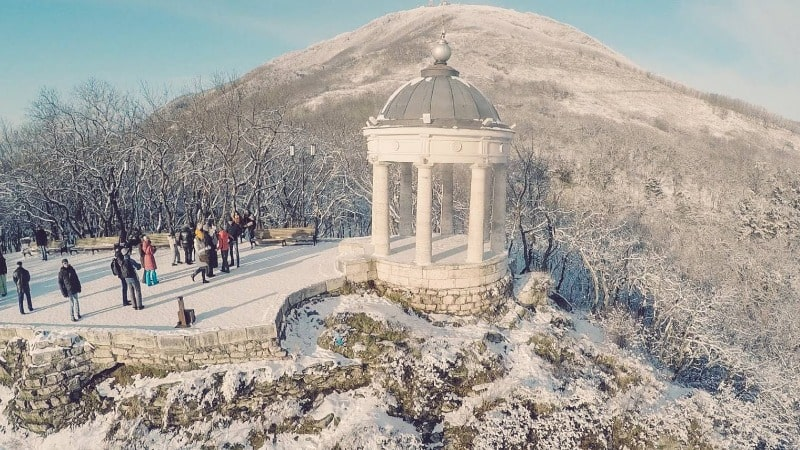 Кавказские Минеральные воды зимой