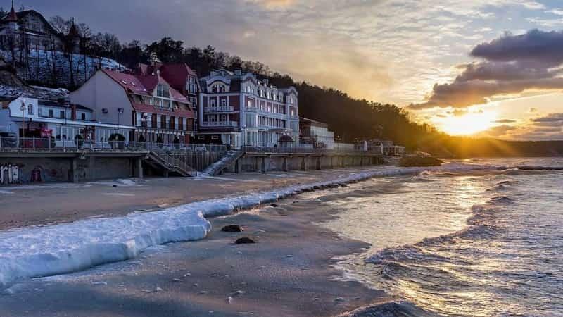 Балтийское море Светлогорск