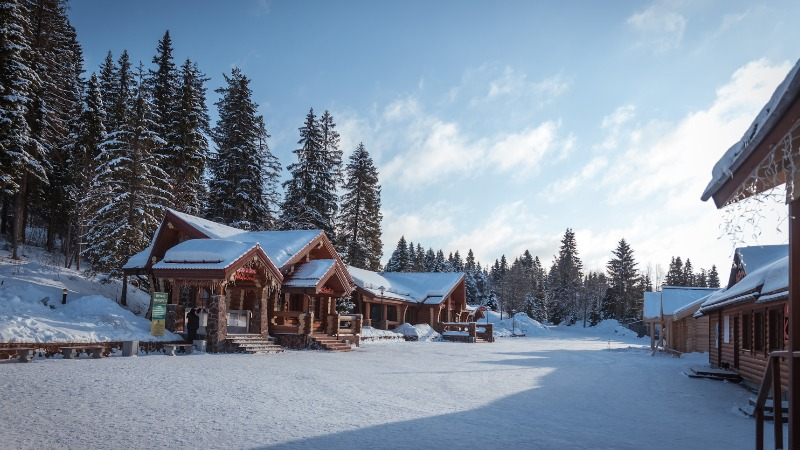 Карелия отдых зимой