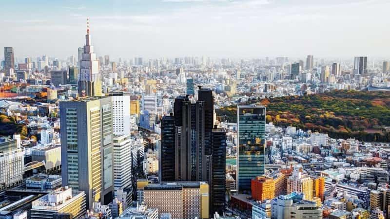 Столица Японии Токио