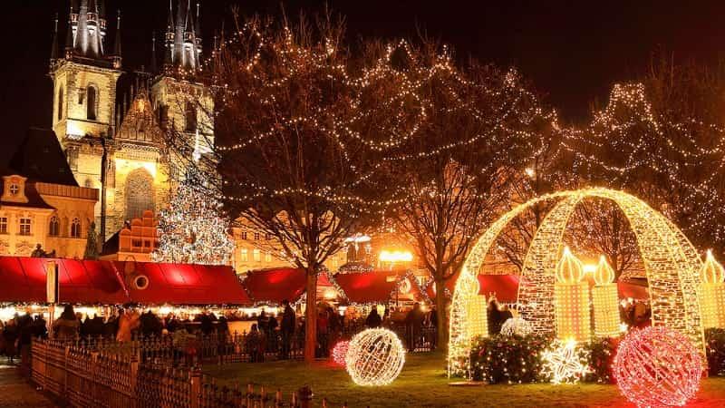 Рождественский Прага фото