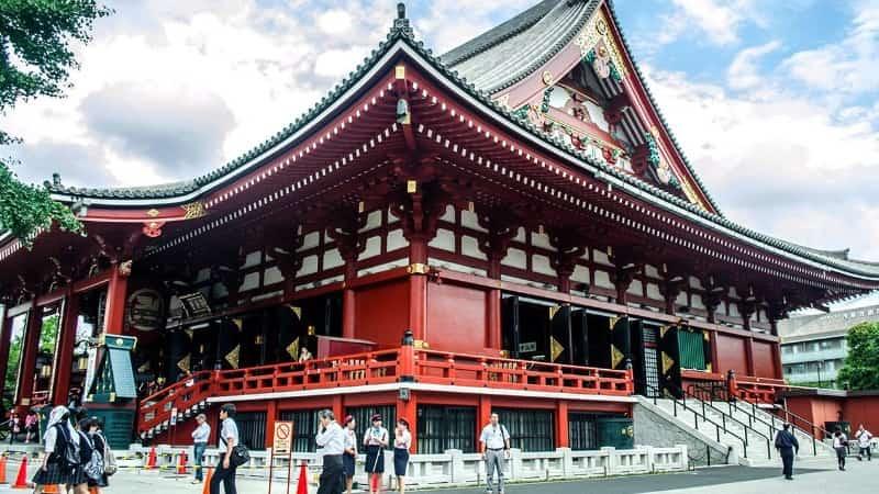 Буддийский храм Асакуса