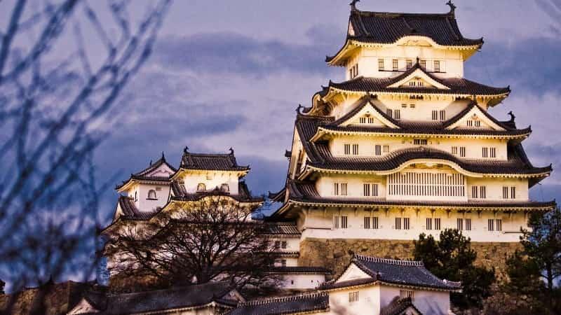 Замок Химэдзи Япония