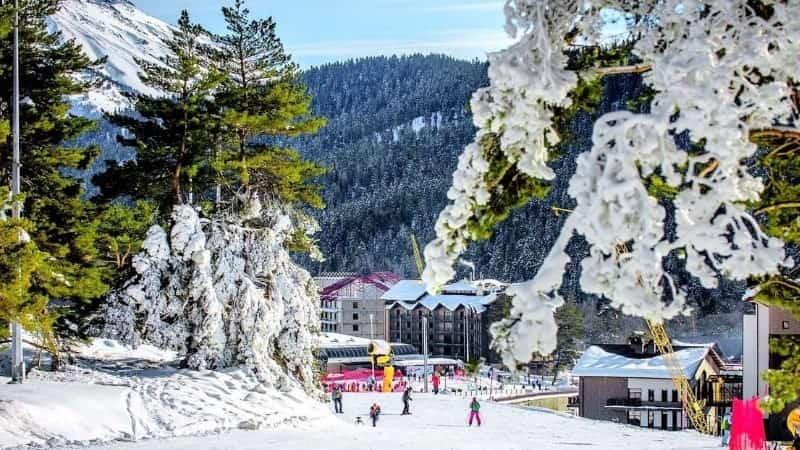 Архыз горнолыжный курорт