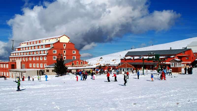 Саклыкент Турция горнолыжный курорт