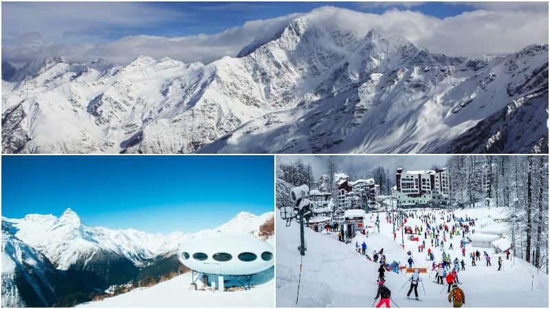 Горнолыжные курорты Кавказа