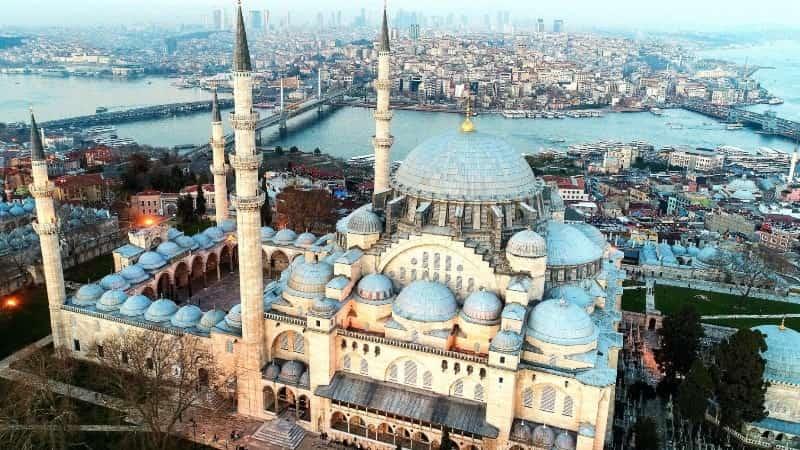 Турция мечеть Сулеймание