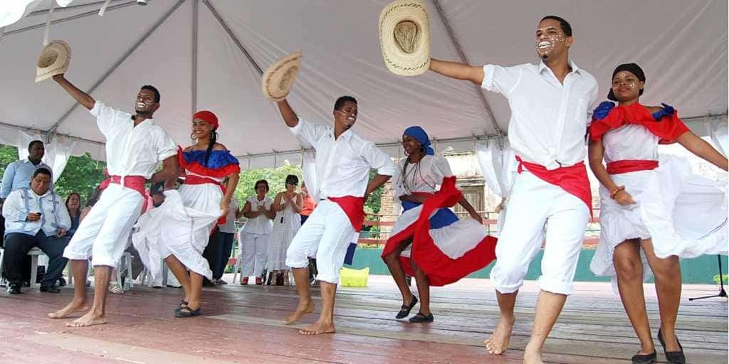 Меренге танец Доминикана