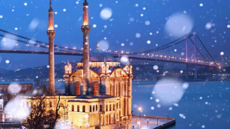 Стамбул Рождество