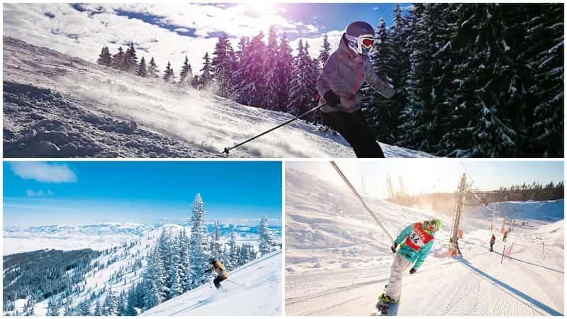 Курорты на которых можно покататься на лыжах в России