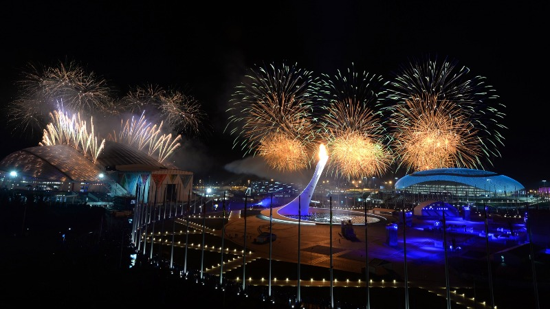 Олимпийский парк Сочи НГ