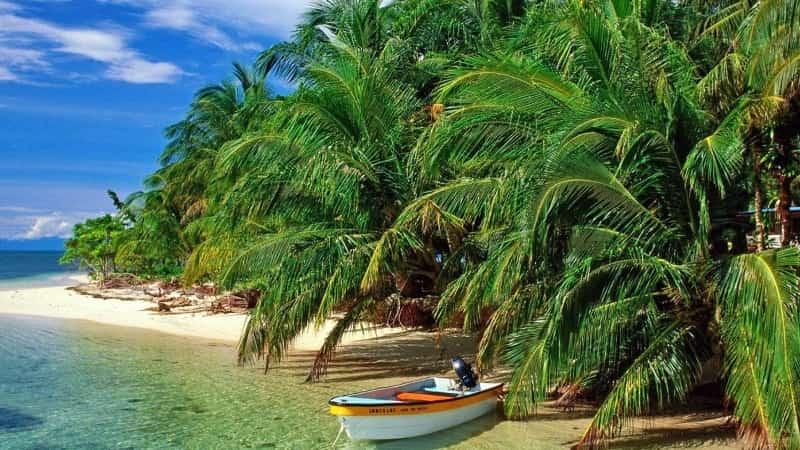 Прогулка на лодке в Доминикане