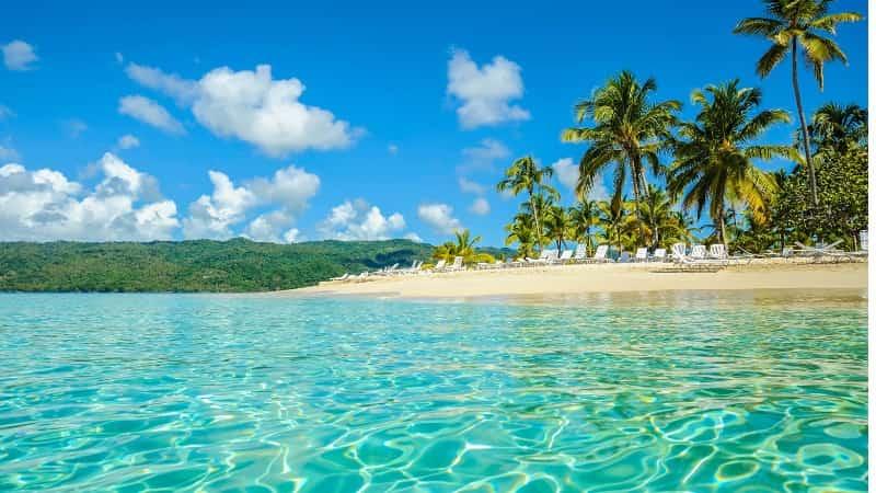 Остров в Доминикане самана