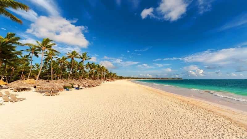 Доминикана Пунта Кана пляж
