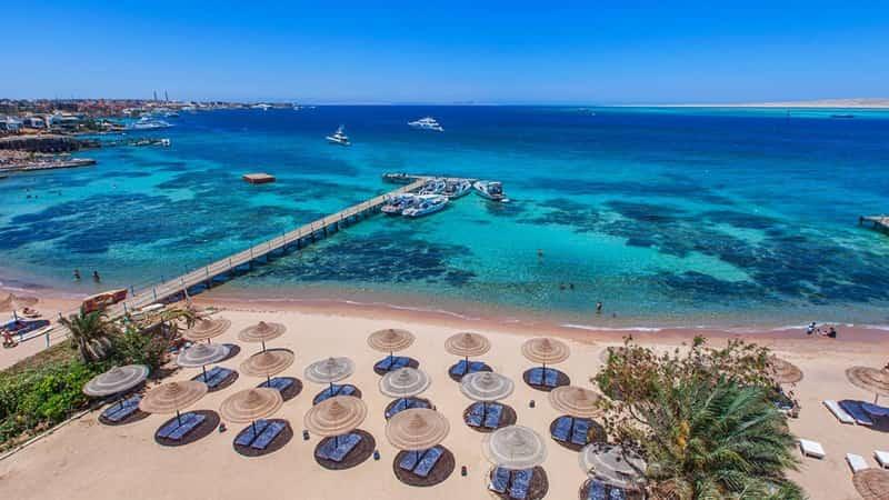 Египет Хургада море