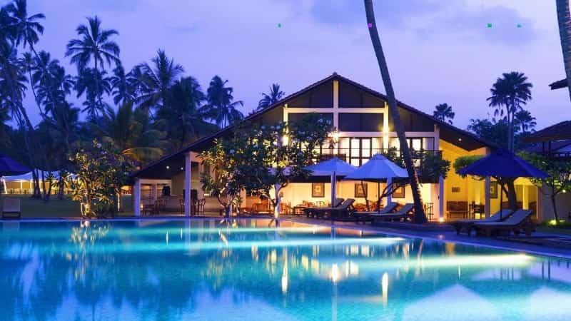 Шри Ланка отель на берегу