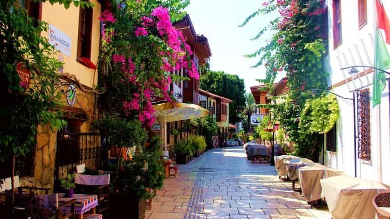 Турция Анталия старый город