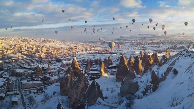 Зимняя Каппадокия