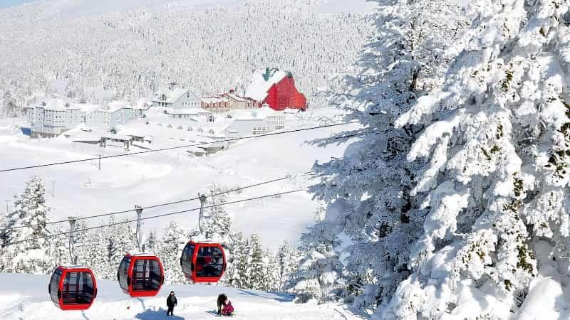 Турция лыжный курорт Улудаг