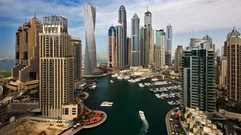 Небоскребы арабских Эмиратов