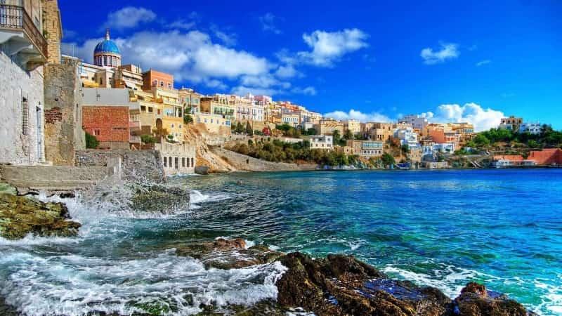 Отдых летом в Греции