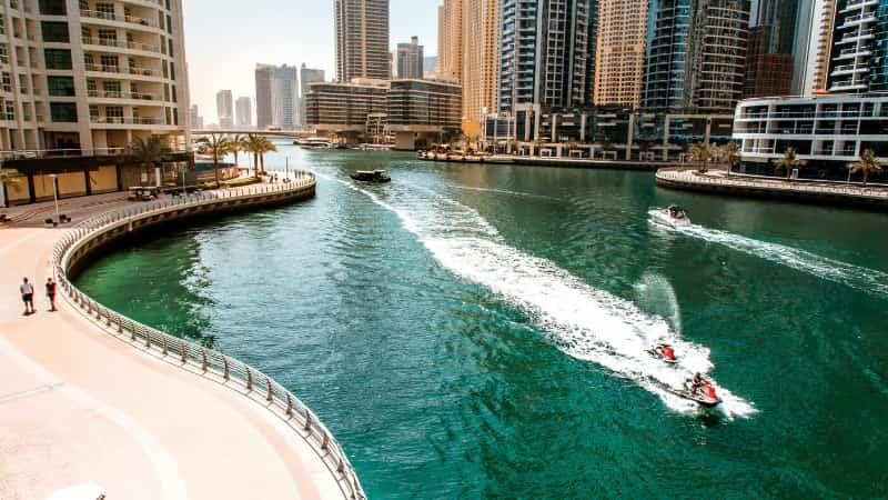 Дубай весной фото