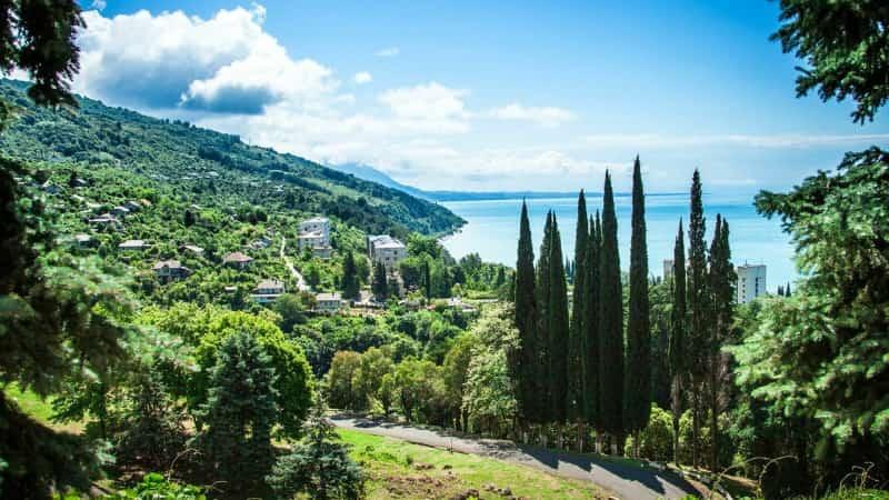 Цандрипш Абхазия курорты