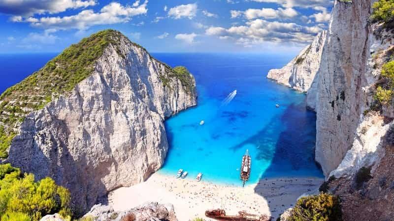 Греция Лагуна Навагио
