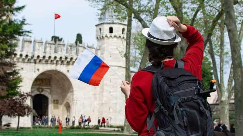 Российские туристы в Германии