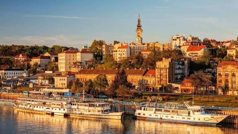 Дунай река Белград