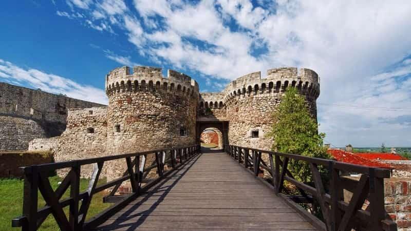 Белградская крепость Сербия